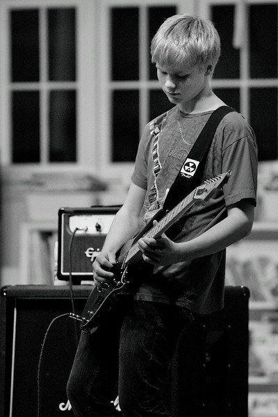 Delayed Reaction and friends at St. Luke's Church Chile Benefit