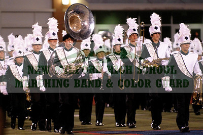 NEW MILFORD HIGH SCHOOL MARCHING BAND at Brien McMahon, September 26, 2009