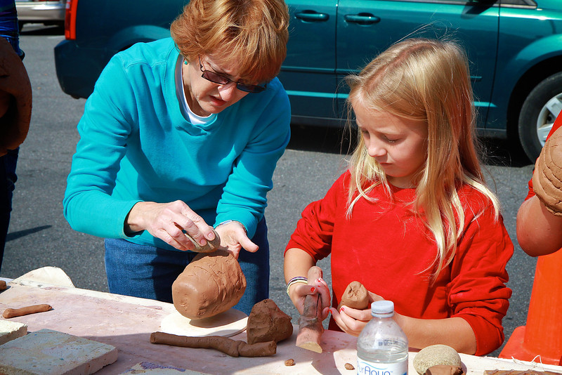 Pottery Demonstration; Southern Appalachian Culture Series Fall 2012