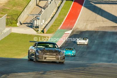 #5 Black Nissan GTR