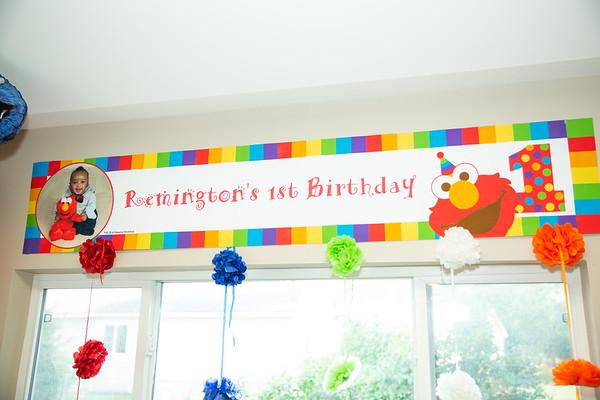 Remington's First Birthday