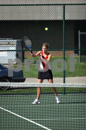 Plainfield v Danville - Tennis, Girls