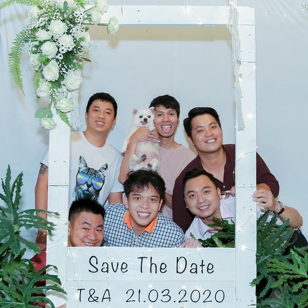 T&A wedding instant print photo booth @ Saigon Botany   Chụp ảnh in hình lấy liền Tiệc cưới tại TP Hồ Chí Minh   Photobooth Saigon