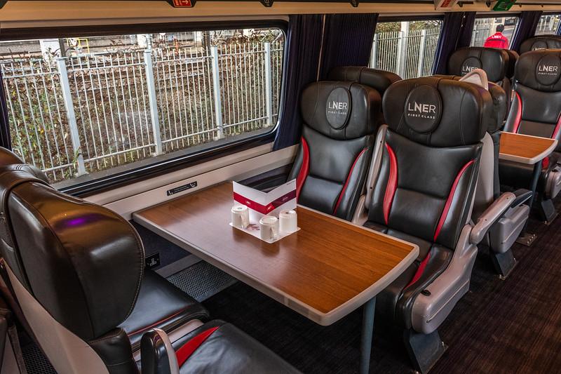 Mark 4 Interior - LNER First