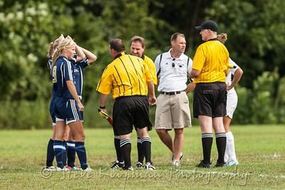 2012 PHS Girls Soccer vs Corydon