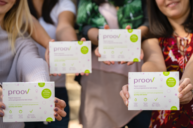 Lifestyle Product Photography | Proov Test Strips
