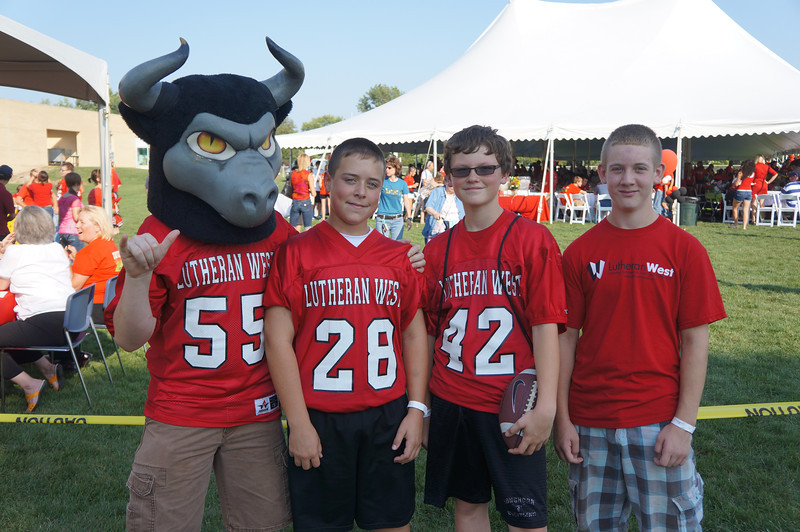 Lutheran-West-Longhorn-at-Unveiling-Bash-and-BBQ-at-Alumni-Field--2012-08-31-055.JPG