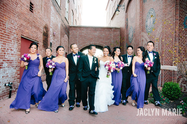 Individual wedding set