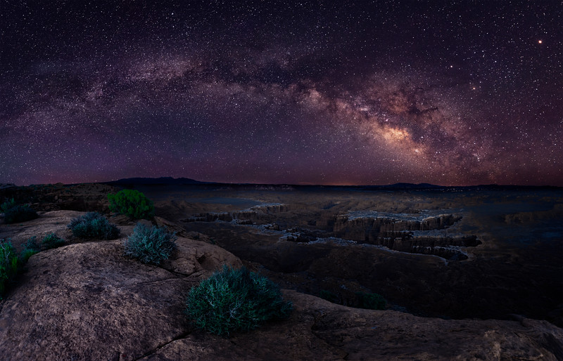 Grand View Milky Way Pano