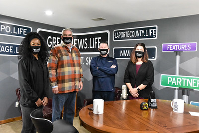 Governor Holcomb visits Great News 2020