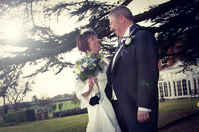 Julie & Mick Moxon Wedding Day