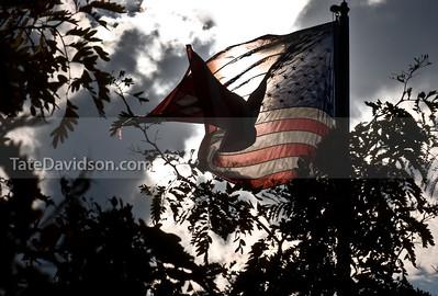 evening flag