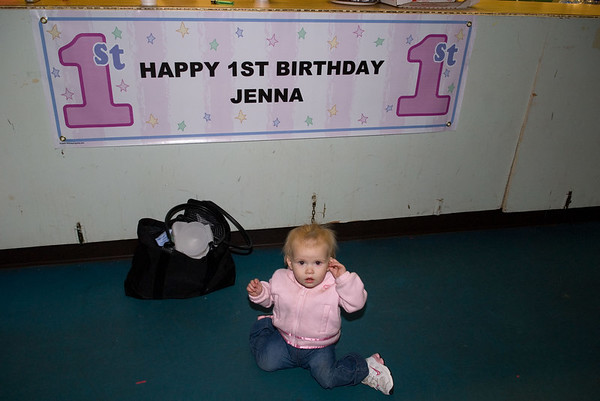 Jenna Penn 1st Birthday