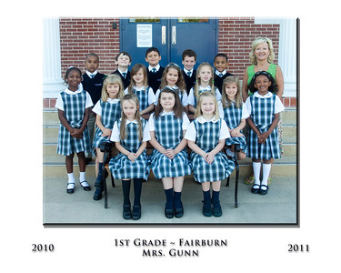 Fairburn Elementary Class Photos