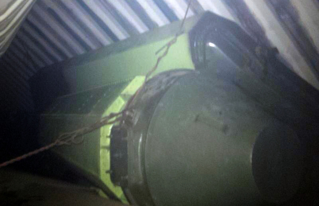 """. A handout picture released on July 16, 2013 by Panama President Ricardo Martinelli on his twitter account (@rmartinelli) shows what he believes is \""""sophisticated missile equipment, that is not allowed\"""" seized on a North Korean cargo ship off the coast of Panama. Panama\'s president said that the North Korean ship captain tried to kill himself after the vessel was stopped en route from Cuba and found to have suspected missile material on board. Outlining a dramatic sequence of events, President Ricardo Martinelli said the ship was targeted by drug enforcement officials as it approached the Panama Canal and was taken into port, but a search revealed cargo of far greater concern.  /AFP/Getty Images"""