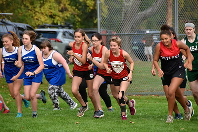 LTS Girls X-C At Home photos by Gary Baker