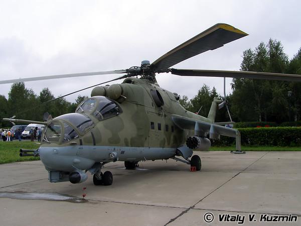 Mi-24, Mi-28 and Ka-50