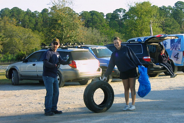 St. Johns River Celebration Cleanup - Blue Cypress Park