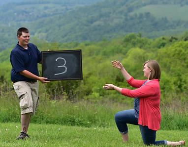 Sara & Joel - Table Numbers