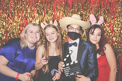 4-24-21 Atlanta World Congress Center Photo Booth - Grady Senior Prom 2021 - Robot Booth
