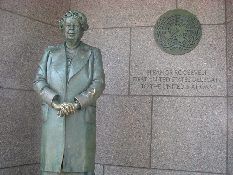Did you know Eleanor Roosevelt was the First US delegate to the United Nations?!?!
