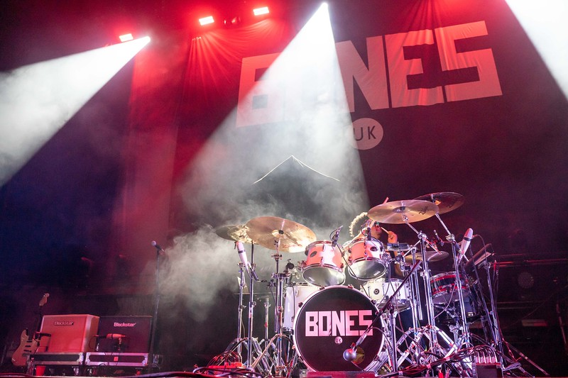 Bones, U.K. opens for Korn and Breaking Benjamin at the Moda Center, February 27, 2020