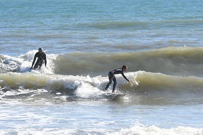 Cocoa Beach Pier Surfing 12-29-20