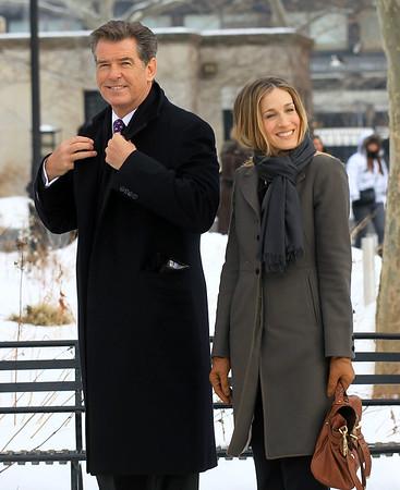 2011-01-25 - Sarah Jessica Parker, Pierce Brosnan