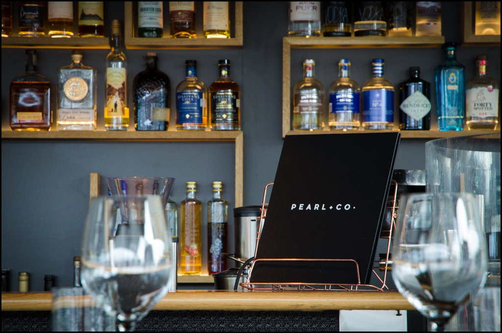 Great drinks options at Pearl + Co.