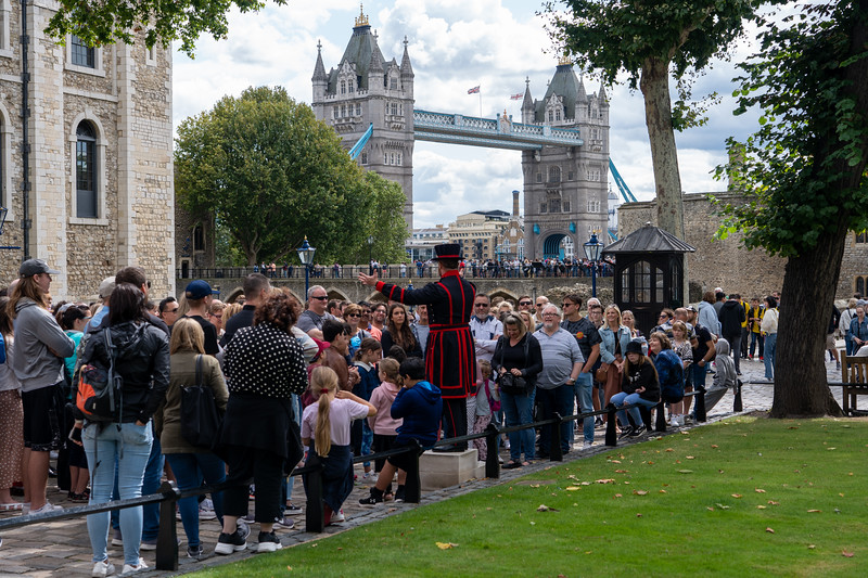Touring the Tower of London