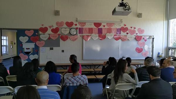 2.14.2020 LS Valentine's Day Concert First Grade