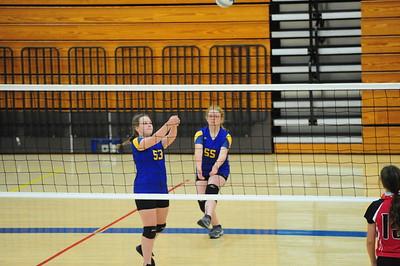 Iola Middle School-MV Jr High volleyball