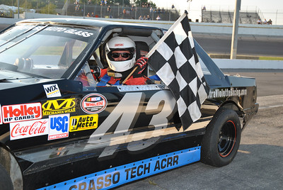Thompson 8-23-12 Victory Lane Scott
