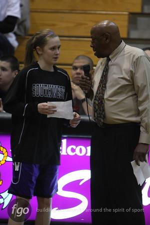 Southwest v Washburn Girls Basketball 2-17-09