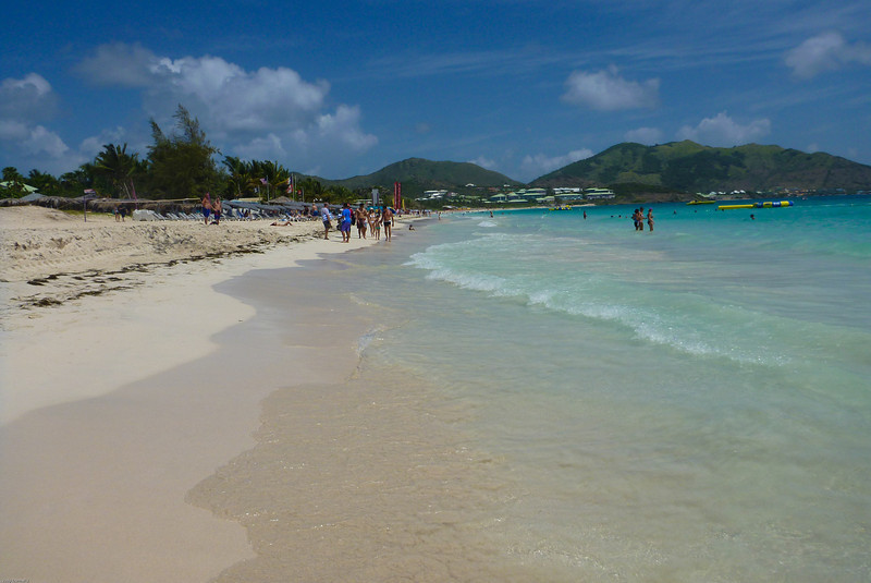 Orient Beach, St. Maarten - Dutch side.