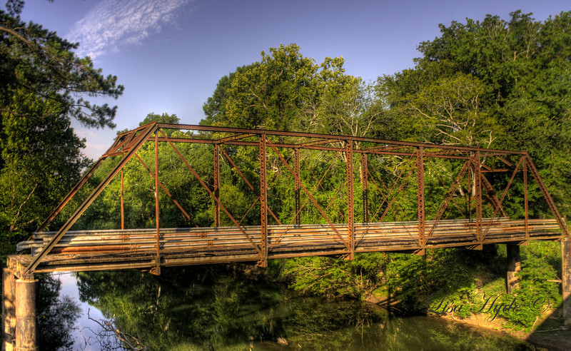Tull Bridge on the Saline River