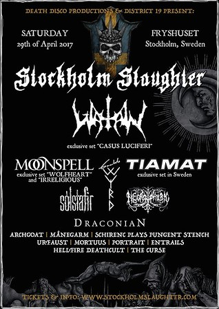 WATAIN - Stockholm Slaughter 29/4 2017