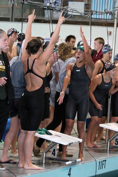 Golden West womens 400 medley relay  winning team