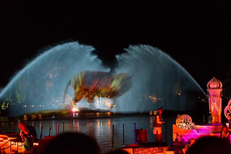 Jungle Book: Alive with Magic Tiger Projection - Disney's Animal Kingdom, Walt Disney World