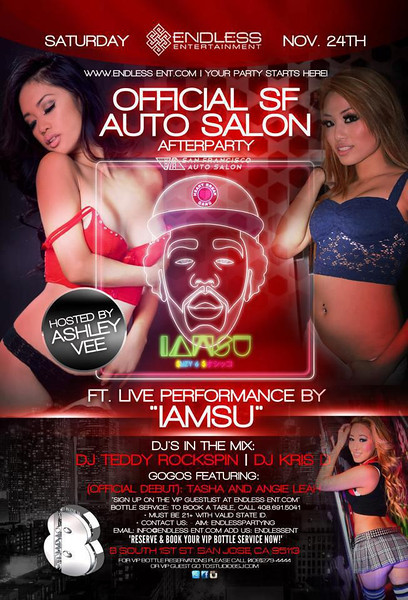 11/24 [The Official Auto Salon After Party@Studio 8]