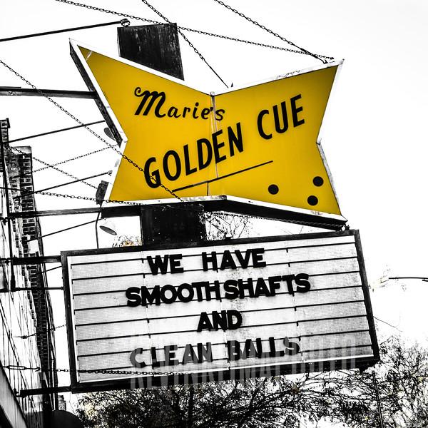 Marie's Golden Cue  (closed)