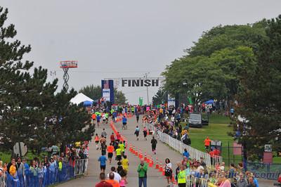 Finish, Gallery 2 - 2013 HealthPlus Brooksie Way Half Marathon