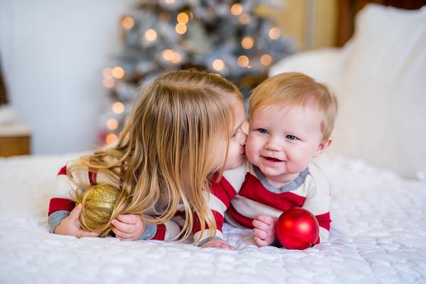 Leach: Christmas PJs