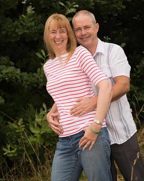 Sam and Paul's pre-wedding  photography in Longton Park,