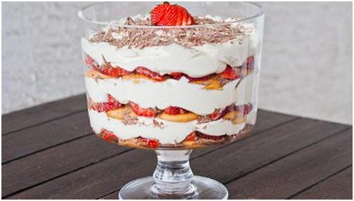 cách làm pudding dâu tây 6