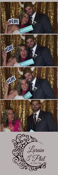 Larain & Phil's Wedding Photo Booth