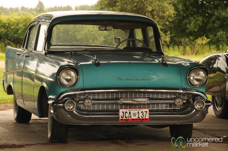 Classic Car in Juanico, Uruguay
