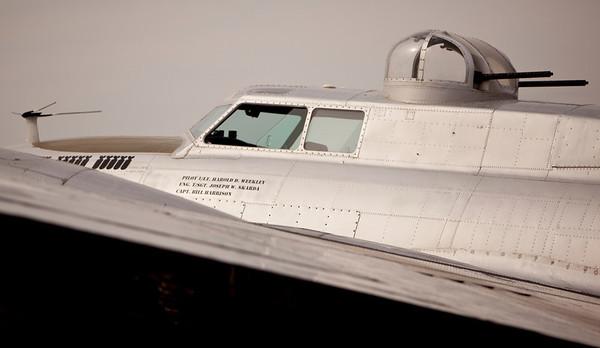 Aluminum Overcast - B-17 Bomber Nov. 2010