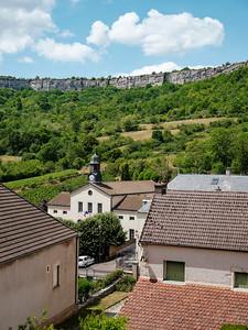 Cliff in Saint Romain