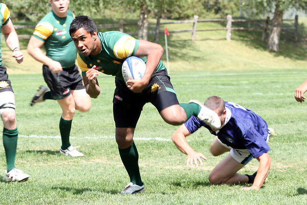 Australian Army vs Vail Mountain Rugby
